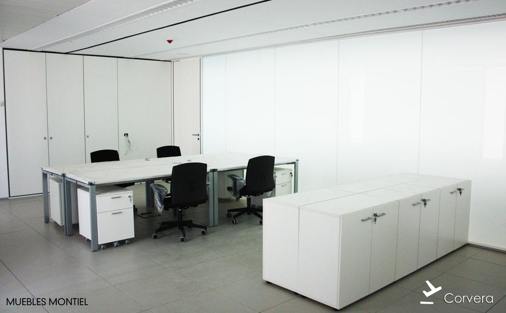 Mobiliario aeropuerto de corvera proyectos muebles montiel for Muebles de oficina en murcia